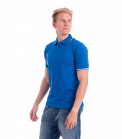 Premium gents heavyweight polo shirt Perfection plain