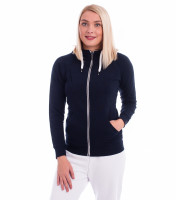 Premium ladies cotton sweatshirt Voyage with hood