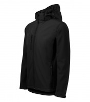 Gents softshell jacket Performance with removable hood