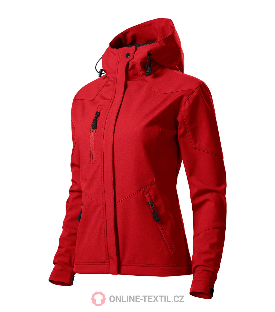 Red Nano With Light Softshell And Ladies Hood Nanotex® Jacket Finish 1lc3uFKJT5