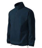 Gents fleece jacket/sweatshirt Horizon with short zipper