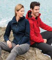 Light ladies softshell jacket Nano with hood and NANOtex® finish