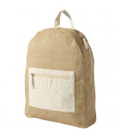 Jute backpack Natural