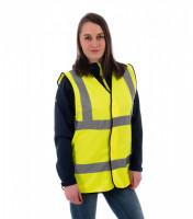Unisex safety vest HV Bright Rimeck
