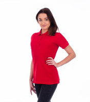 Heavyweight ladies polo shirt Cotton Heavy