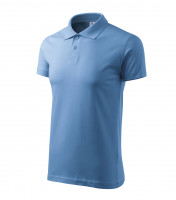 Smooth cotton polo shirt Single J.