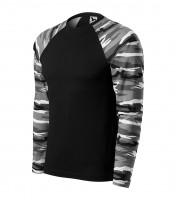 Army T-shirt unisex Camouflage long sleeve