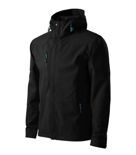 Light gents softshell Jacket Nano with hood and NANOtex® finish