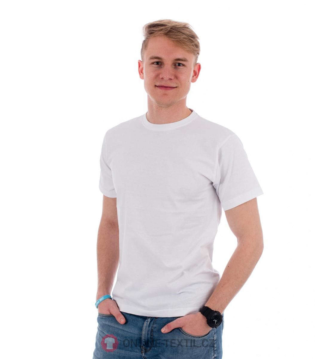 89a0da811aeb ADLER CZECH Gents T-shirt Basic 129 - white from the MALFINI ...