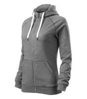 Premium ladies cotton sweatshirt Voyage with hood