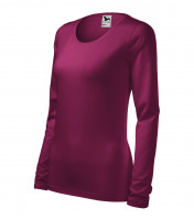 Ladies heavyweight longsleeve T-shirt Slim