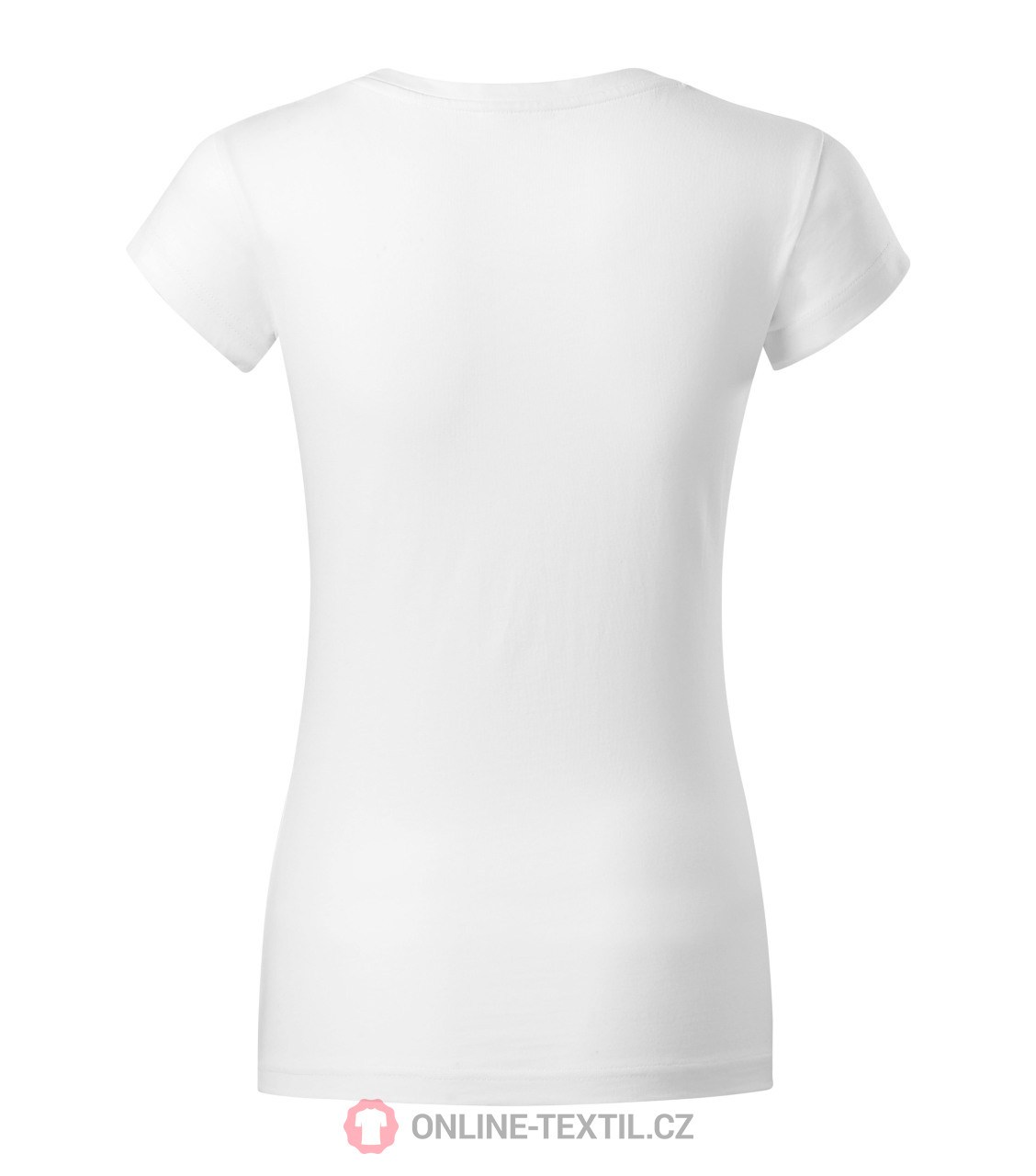 9f0dbc6b ADLER CZECH Heavyweight ladies T-shirt Fit V-neck 162 - white from ...