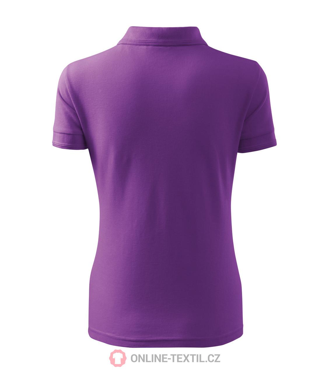 ADLER CZECH Heavyweight ladies polo shirt Pique Polo 210 - purple ... 0dfeb01759f4