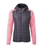Ladies trendy fleece jacket James & Nicholson