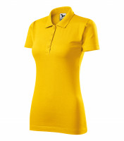 Smooth cotton ladies polo shirt Single J.