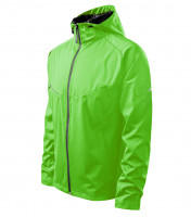 Light gents softshell Jacket Cool with reflective strips