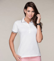 Premium heavyweight ladies Polo Perfection plain