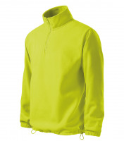 Gents fleece jacket/sweatshirt Horizon with short zipper