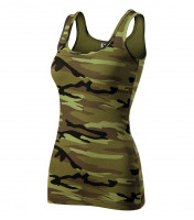 Camo Triumph Top Ladies