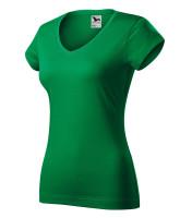 Heavyweight ladies T-shirt Fit V-neck