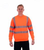 Reflective sweatshirt HV Essential Rimeck