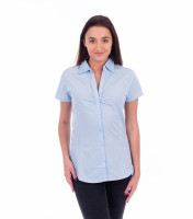 Ladies Blouse Chic short sleeve