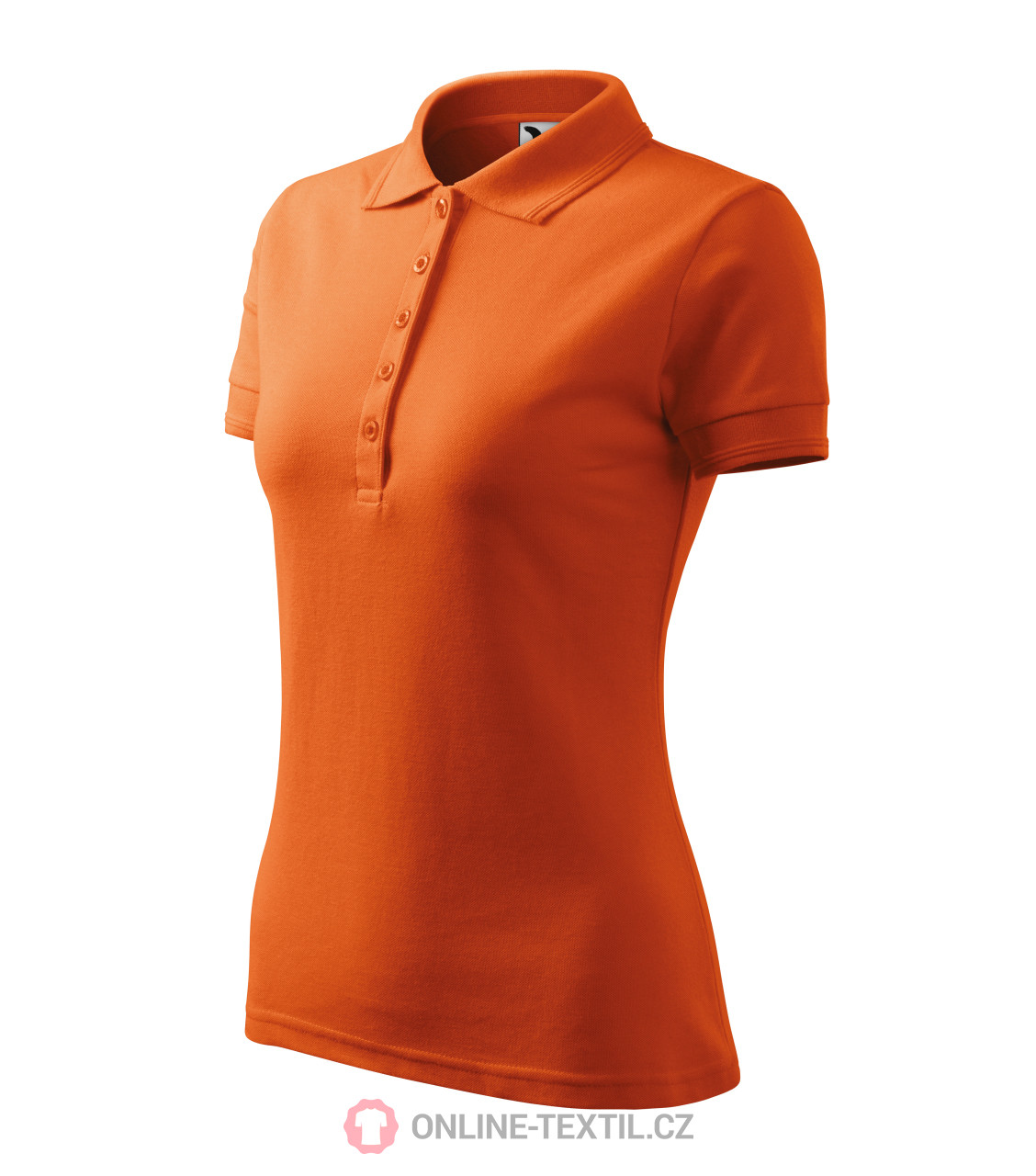 b8ac61aa ADLER CZECH Heavyweight ladies polo shirt Pique Polo 210 - orange ...