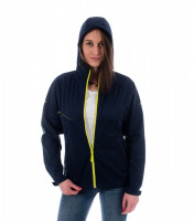 Light ladies softshell jacket Cool with reflective strips