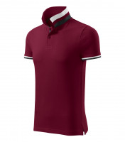Premium heavyweight gents polo shirt Collar Up