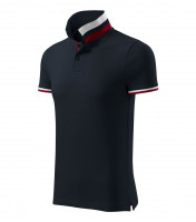 Premium heavyweight gents polo shirt Collar Up