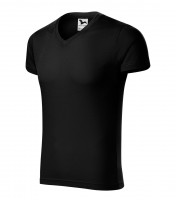 Slim Fit V-neck Gents heavy weight T-shirt