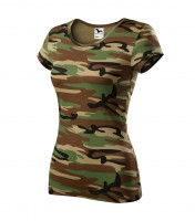 Camo Pure T-shirt Ladies