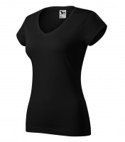Heavyweight ladies T-shirt Fit V-neck