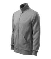Gents Sweatshirt Adventure with metallic zipper