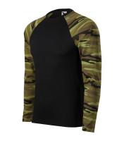 Army T-shirt unisex Camouflage long sleeve
