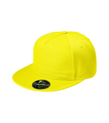 2ab259b1837643 ADLER CZECH Rap 5P Cap Unisex 301 - lemon from the MALFINI ...