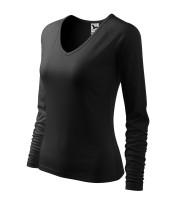 Ladies heavyweight T-shirt Elegance long sleeve
