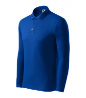 Heavyweight Pique Polo LS gents polo shirt