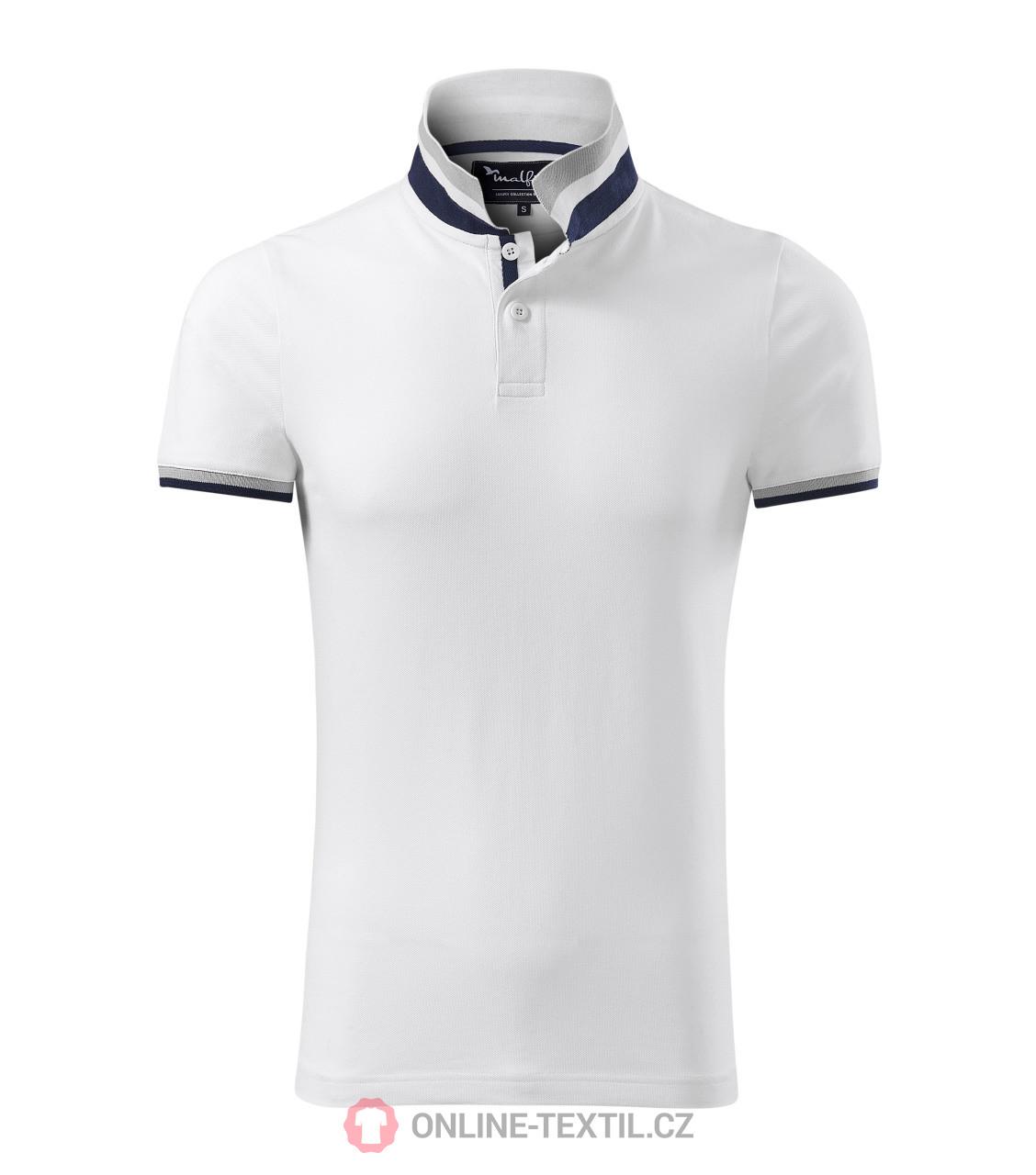 28771819b89 ADLER CZECH Premium heavyweight gents polo shirt Collar Up 256 ...
