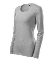 Ladies heavyweight longsleeve T-shirt Slim