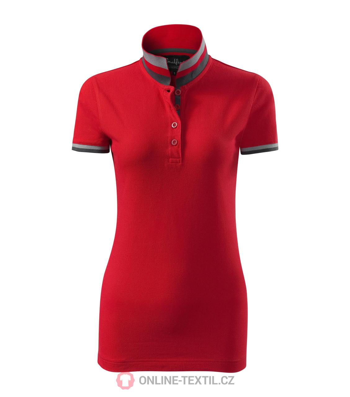 623e13d30a3 ADLER CZECH Premium heavyweight ladies polo shirt Collar Up 257 ...