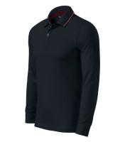 Premium gents polo shirt Contrast Stripe LS