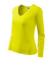 Ladies heavyweight T-shirt Elegance long sleeve