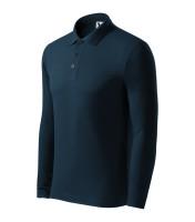 Heavyweight Pique Polo LS gents polo shirt
