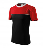 Two-tone heavyweight T-shirt Colormix