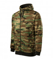 Camo Zipper weatshirt Gents
