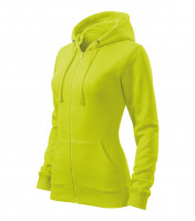 Trendy Zipper Sweatshirt Ladies