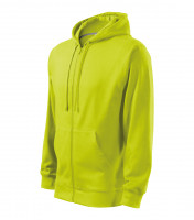 Gents sweatshirt Trendy Zipper with hood